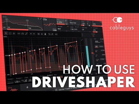 How To Use Cableguys DriveShaper In 5 Minutes | Distortion VST/AU/AAX Plugin Tutorial