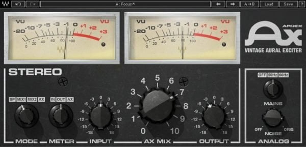 Waves Aphex Vintage Aural Exciter - Harmonic Exciter Explained - How It Works And Best Plugins | Integraudio.com