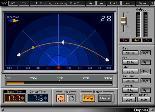 29 Best Sound Design VST Plugins - Waves Doppler   MusicGearo.com
