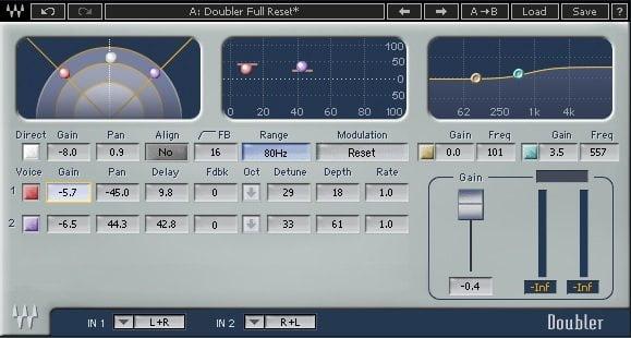 29 Best Sound Design VST Plugins - Waves Doubler   MusicGearo.com