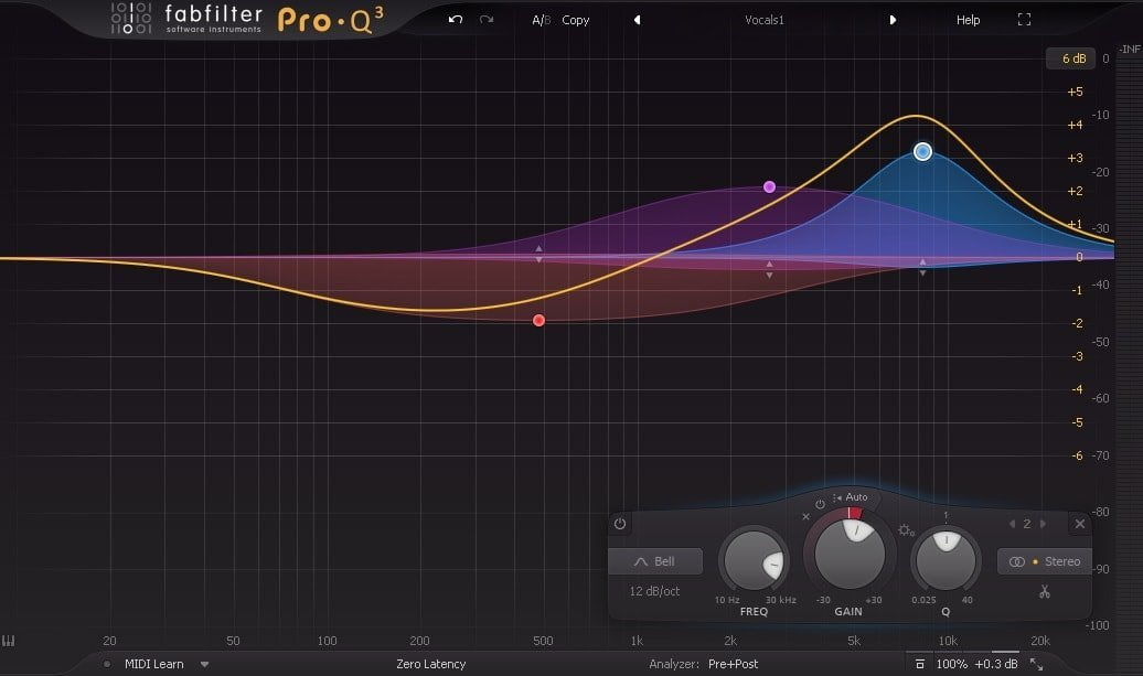 FabFilter Pro Q3 - Mixing Vocals - 8 Tips How To EQ Vocals Like A Pro | Integraudio.com