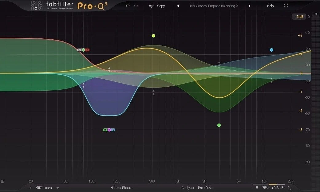 FabFilter Pro-Q 3 - Difference Between Active, Passive and Dynamic EQ | Integraudio.com