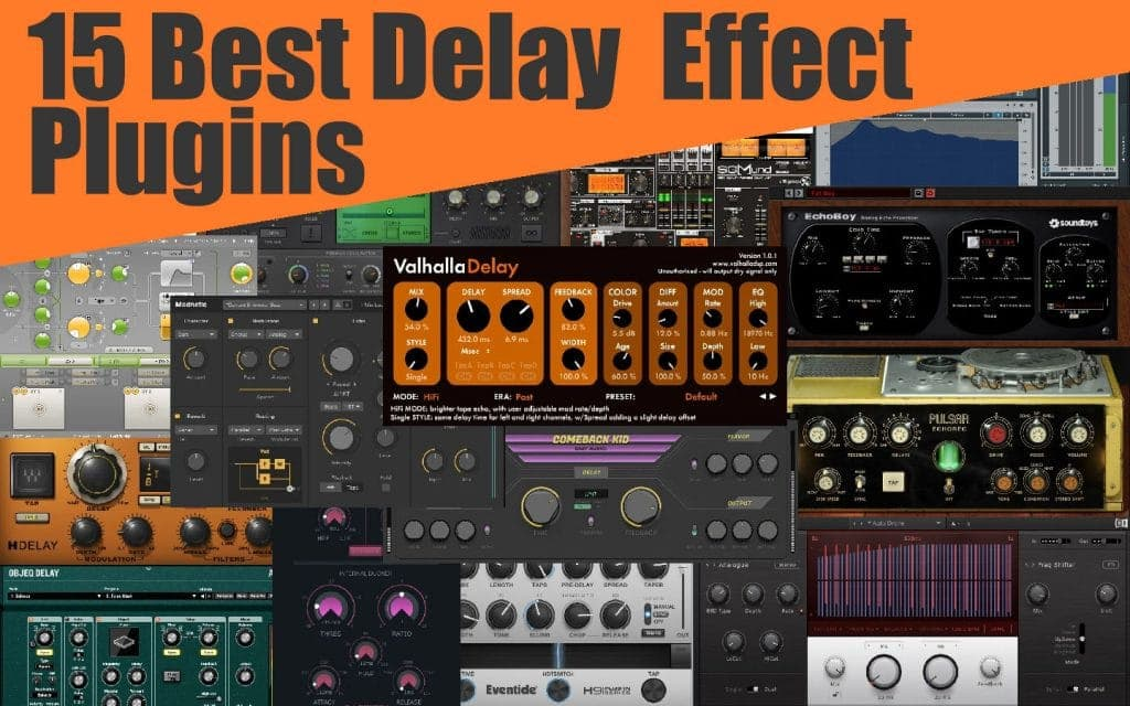 15 Best Delay Plugins of 2020 (VST, AU, AAX) | Integraudio.com