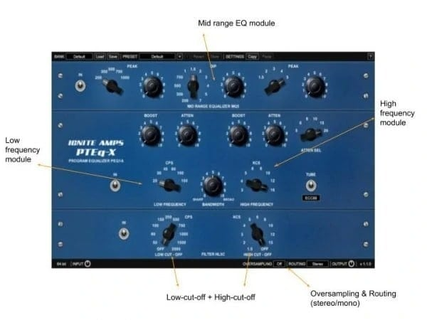 Ignite Amps PTEq-X Review - 17 Best Free EQ VST Plugins | Integraudio.com