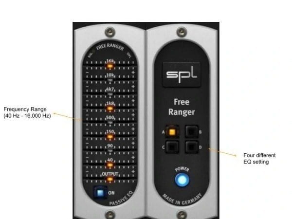 SPL Free Ranger Review - 17 Best Free EQ VST Plugins | Integraudio.com