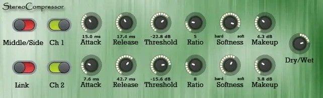 Matthieu Brucher ATK Stereo Compressor Review - 37 Best Free Vst Compressor Plugins | Integraudio.com