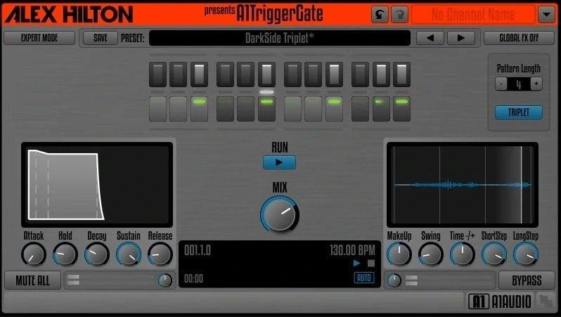 AlexHilton A1TriggerGate Review - 10 Best Noise Gate Plugins (VST,AU, AAX) | Integraudio.com