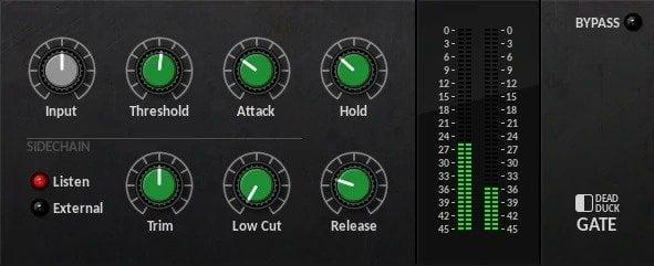 Dead Duck DD Gate Review - 10 Best Noise Gate Plugins (VST,AU, AAX) | Integraudio.com