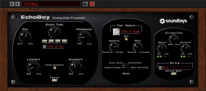 Soundtoys EchoBoy Review - 15 Best Delay Plugins | Integraudio.com