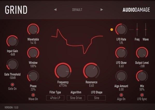 Audio Damage Grind Review - 29 Best Sound Design VST Plugins | Integraudio.com