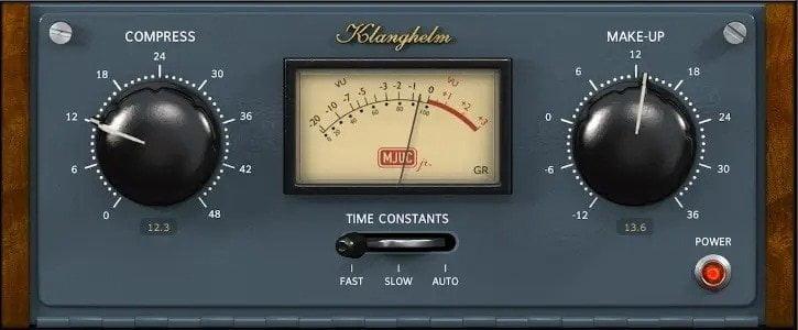 Klanghelm MJUC jr. Review - 37 Best Free Vst Compressor Plugins | Integraudio.com
