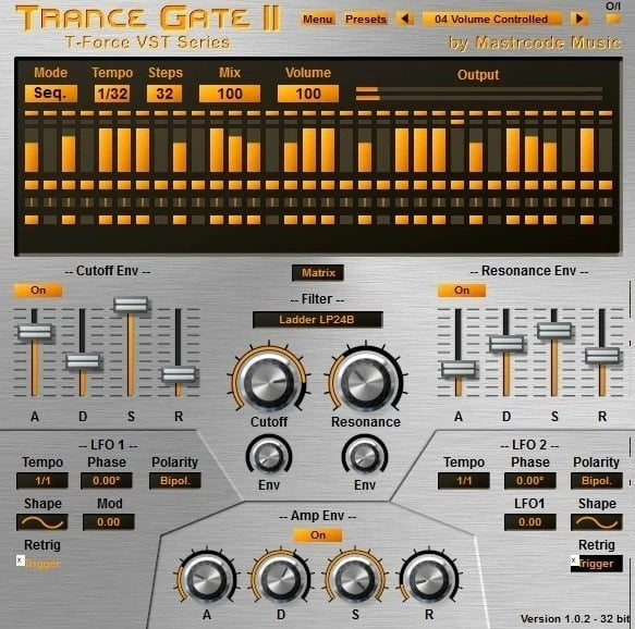 T-Foirce Trance Gate II - 10 Best Noise Gate Plugins (VST,AU, AAX) | Integraudio.com