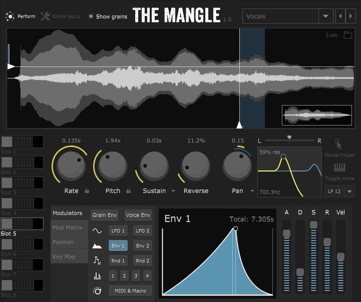 Sound Guru The Mangle Review - 11 Best Granulizer Plugins | Integraudio.com