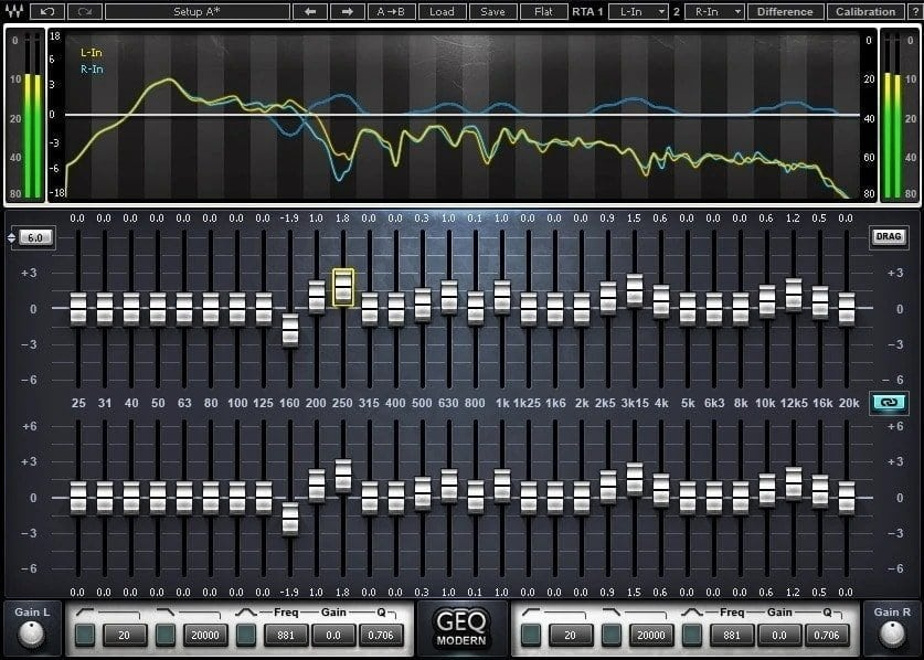 Waves GEQ Graphic Equalizer Review - 33 Best WAVES Plugins of 2020 | Integraudio.com