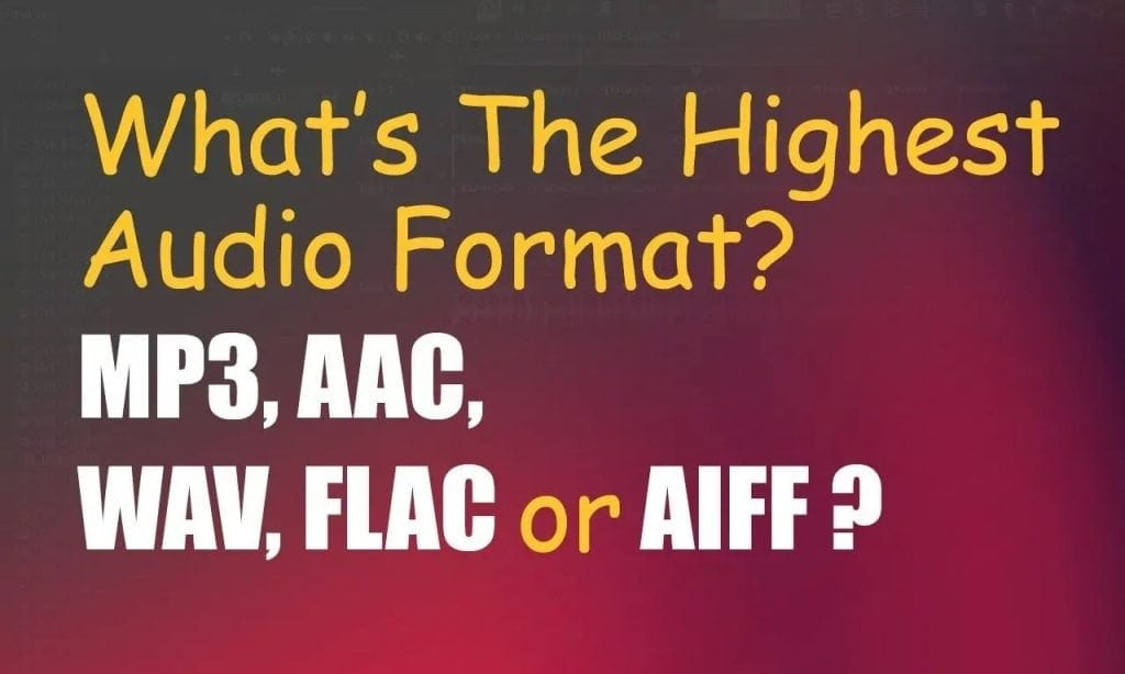 What Is The Best Audio Format? WAV vs MP3 vs AAC vs AIFF | Integraudio.com