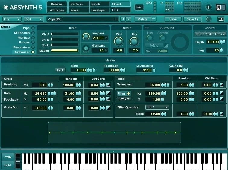 NI Absynth 5 Review - 29 Best Sound Design VST Plugins | Integraudio.com