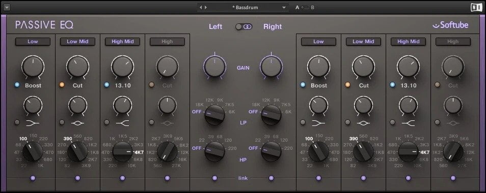 Native Instruments Passive EQ - Difference Between Active, Passive and Dynamic EQ | Integraudio.com