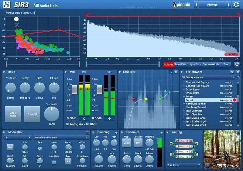 SIR Audio Tools SIR3 Review - The 10 Best Convolution Reverb Plugins   Integraudio.com