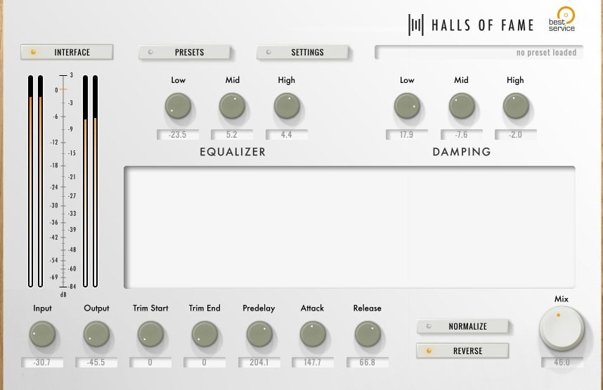 Halls Of Fame 3 Free Edition Review - 10 Best Convolution Reverb Plugins For Music Production in 2020