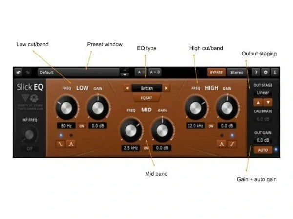 TDR Slick EQ Review - 17 Best Free EQ VST Plugins | Integraudio.com