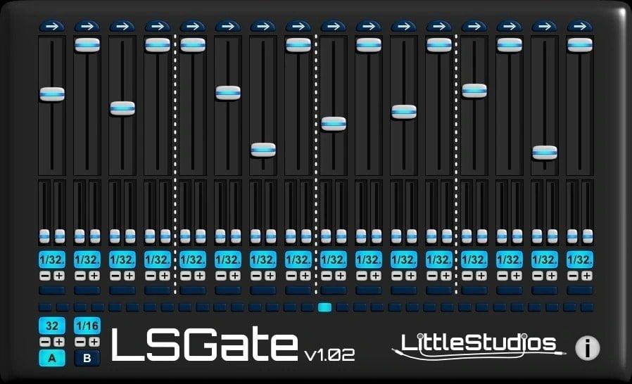 LittleStudios LSGate - 10 Best Noise Gate Plugins (VST,AU, AAX) | Integraudio.com
