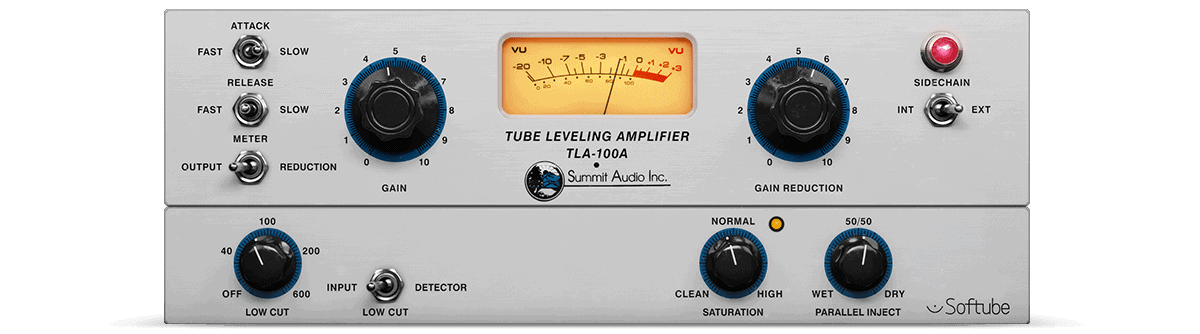 Softube Summit Audio TLA-100A Review- 10 Best Opto Compressor Plugins (VST,AU,AAX) | Integraudio.com