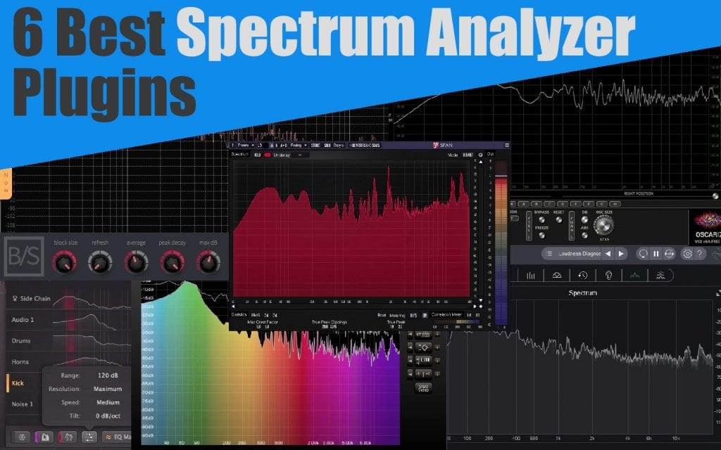 Top 6 Spectrum Analyzer Plugins Of 2020 - Spectral Analysis Tools | Integraudio.com