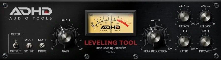 ADHD Leveling Tool Review - 10 Best Opto Compressor Plugins (VST,AU,AAX) | Integraudio.com