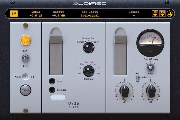 Audified U73b Compressor V2 Review - 7 Best Vari-Mu Compressor Plugins of 2020 | Integraudio.com