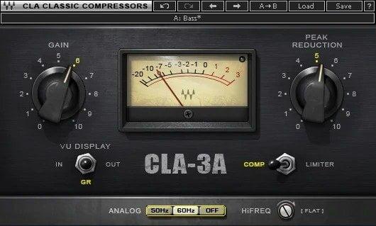 Waves CLA-3A Compressor Review - 10 Best Opto Compressor Plugins (VST,AU,AAX) | Integraudio.com