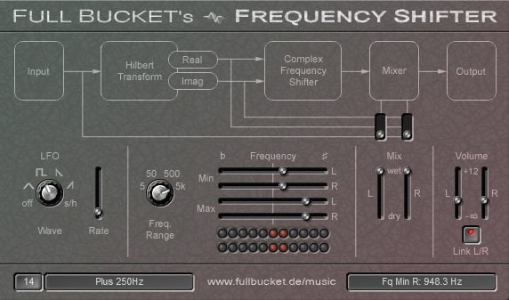 Full Bucket's Frequency Shifter - The 6 Best Frequency Shifter VST Plugins | Integraudio.com