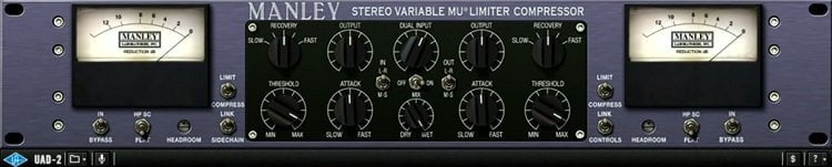 Manley Variable Mu Limiter Compressor Review - 7 Best Vari-Mu Compressor Plugins of 2020 | Integraudio.com