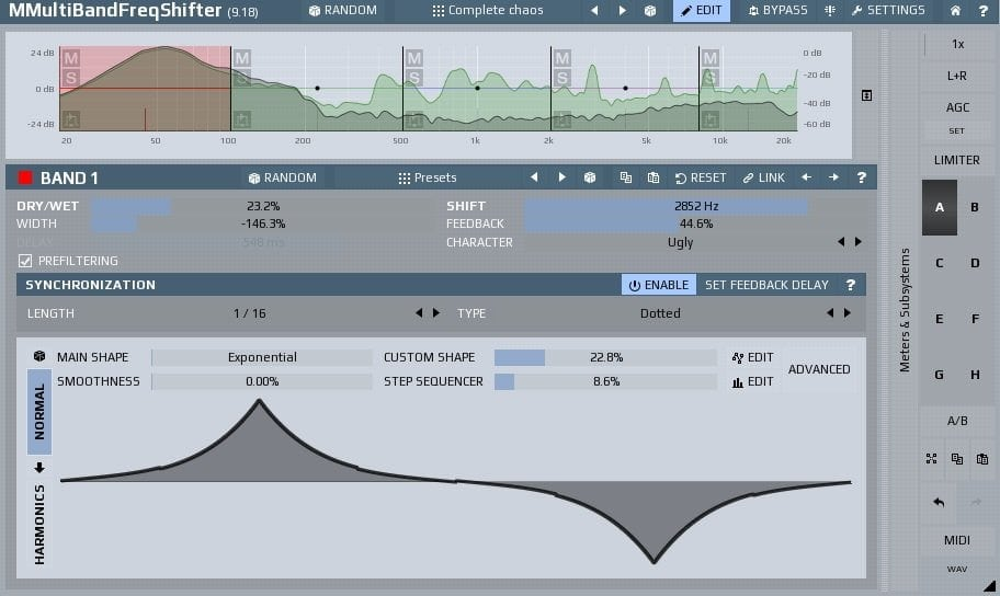 MeldaProduction MFreqShifterMB - The 6 Best Frequency Shifter VST Plugins | Integraudio.com