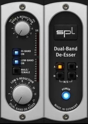 SPL Dual-Band De-Esser - How To Fix Bad Audio In Post Production? | Integraudio.com
