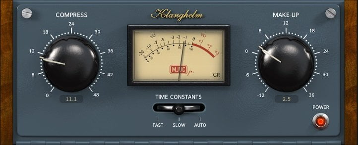 MJUC by Klanghelm (FREE & Paid) Review - 7 Best Vari-Mu Compressor Plugins of 2020 | Integraudio.com