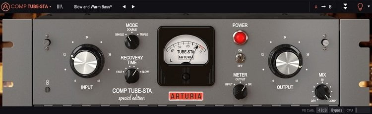 Arturia Comp TUBE-STA Review - 7 Best Vari-Mu Compressor Plugins of 2020 | Integraudio.com
