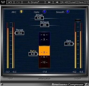 Waves Renaissance Compressor Review - 10 Best Opto Compressor Plugins (VST,AU,AAX) | Integraudio.com