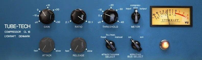 Tube-Tech CL-1B Review - 10 Best Opto Compressor Plugins (VST,AU,AAX) | Integraudio.com