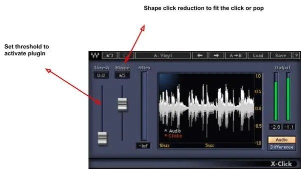 Waves X-Click - How To Fix Bad Audio In Post Production? | Integraudio.com