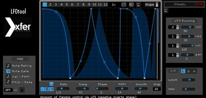 Xfer LFO Tool Review - 7 Best Sidechain Plugins | Integraudio.com