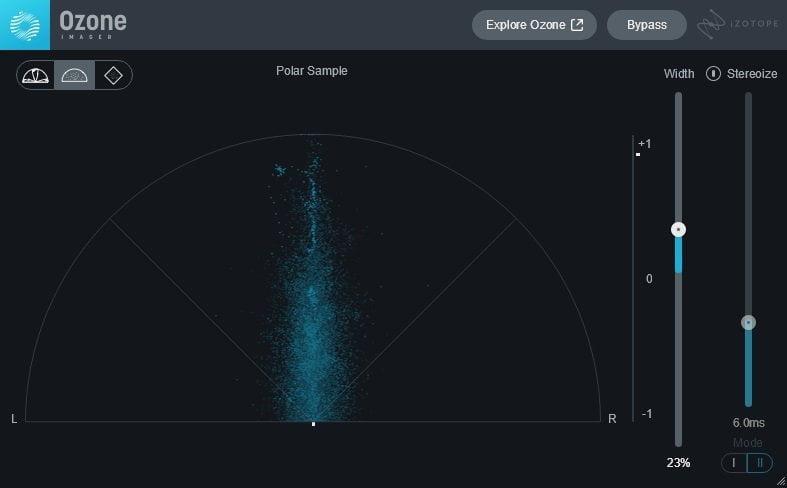 iZotope Imager 2 (Stereo Width Analysis) Review - The 4 Best FREE Audio Metering Plugins (LUFS, RMS, LRA, True Peak)   Integraudio.com