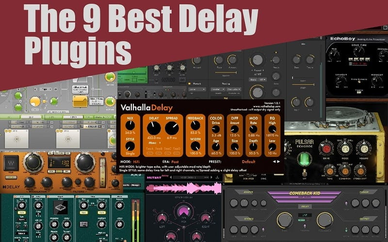 The 9 Best Delay Plugins For Music Production In 2021 (VST, AU, AAX)
