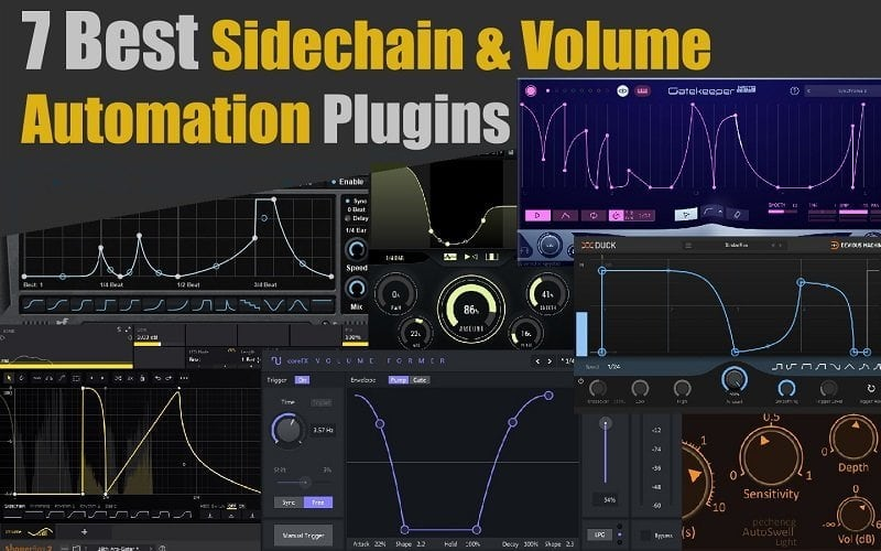 7 Best Sidechain & Volume Automation Plugins 2020 (VST,AU,AAX) | Integraudio.com