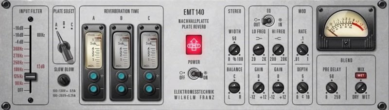 Universal Audio EMT 140 Review - 7 Reverb Plugins With A Big Potential 2021 | Integraudio.com