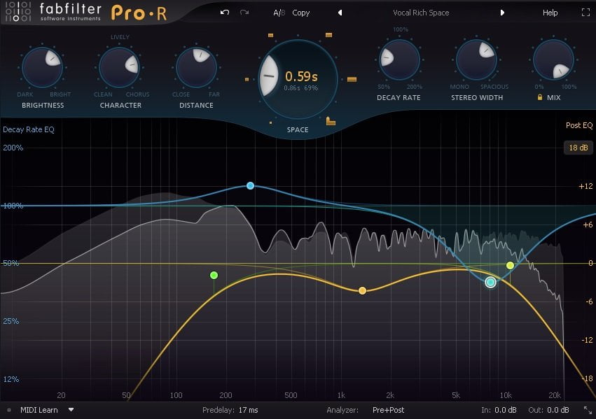 FabFilter Pro-R Review - The 11 Best Reverb Plugins 2021 | Integraudio.com