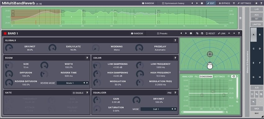 MeldaProduction MReverbMB - 7 Reverb Plugins With A Big Potential 2021 | Integraudio.com