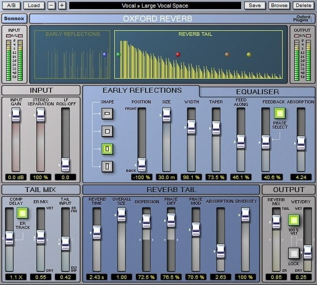 Sonnox Oxford Reverb Review - The 11 Best Reverb Plugins 2021 | Integraudio.com