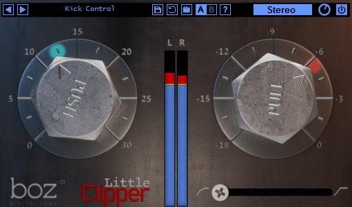 Boz Digital Labs Little Clipper - The 10 Best Cheap Limiter Plugins 2021 (And 4 FREE Plugins) VST, VST3, RTAS, AU,AAX | Integraudio.com