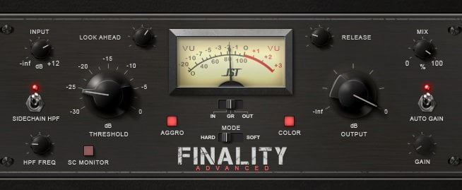 Joey Sturgis Tones Finality Advanced Review - The 10 Best Cheap Limiter Plugins 2021 (And 4 FREE Plugins) VST, VST3, RTAS, AU,AAX | Integraudio.com