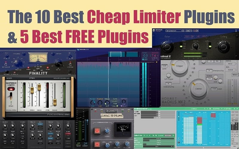 The 10 Best Cheap Limiter Plugins (And 5 FREE Plugins) | Integraudio.com